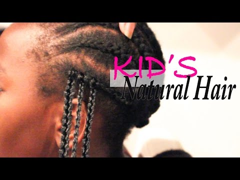Kid's Natural Hair| Protective Styling With Shake N Go Box Braids