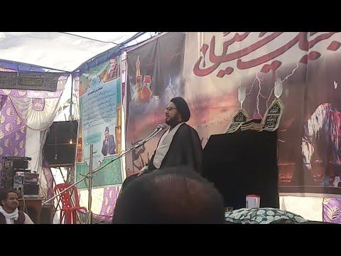 """Molana """"Uroojul Hasan Meesam"""" 2nd Majalis 2nd Day Salana Majlis 2019 Chhajupura Sadat Bijnor UP"""