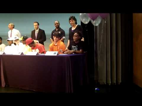 College Signings at Northern Guilford High School