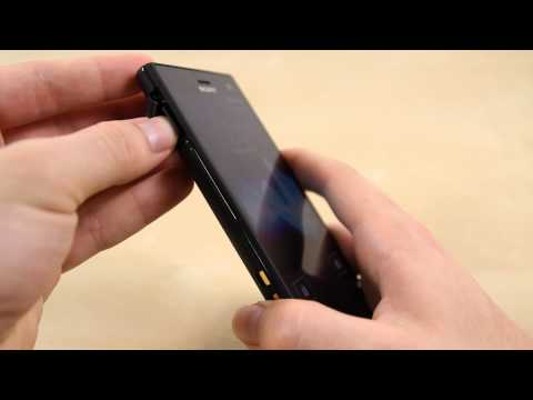 How to Insert Micro SD card on the Sony Xperia S Acro