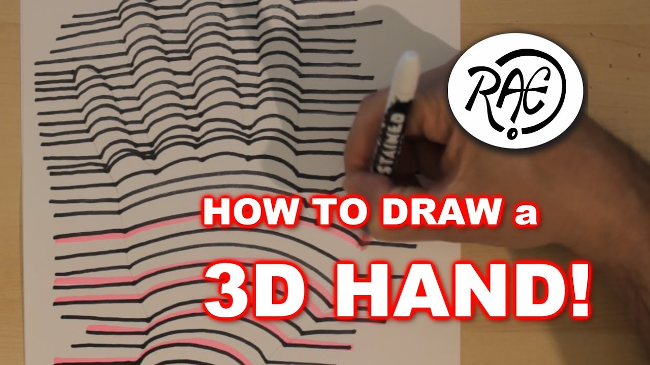 how to draw illusions step by step easy