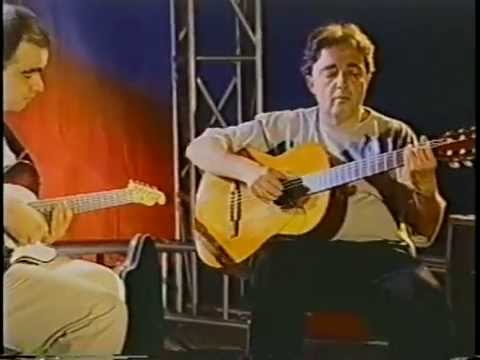 Guitarists Niromar Fernandes (acoustic) and Genil Castro performing the italian song ESTATE, recorded in 1999.