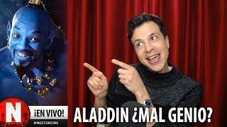 El Genio de Will Smith en Teaser Trailer de ALADDIN