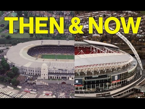 7 Famous Football Stadiums Then And Now | Can You Identify Them?