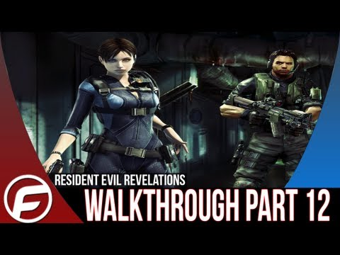 Resident Evil Revelations Walkthrough Part 12 [XBOX 360, PS3, PC, WIIU]