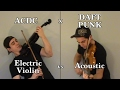 Violin Thunderstorm Dave Kaiser ACDC Thunderstruck Crookers Remix Daft Punk Aeordynamic mp3