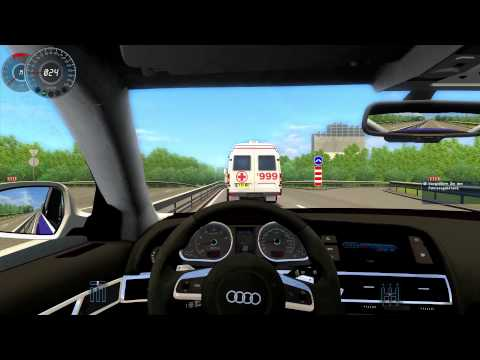 #023 Let's Play City Car Driving - Audi RS6 [Deutsch] [Full-HD] MOD
