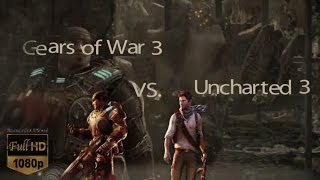 Gears of war 3 vs Uncharted 3 GRAPHICS COMPARISON [BUP] HD 1080p