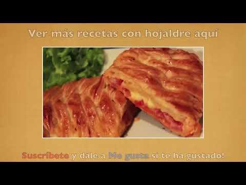 Palitos de hojaldre rellenos de queso - Recetas con hojaldre
