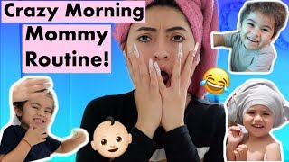 Morning Mommy Routine With My 3 Year Old!