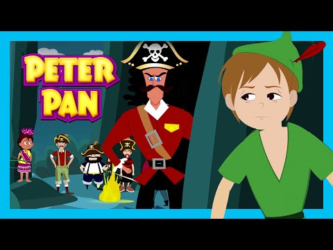 PETER PAN - BEDTIME STORY FOR KIDS   Full Story - Fairy Tales   Tia And Tofu Storytelling