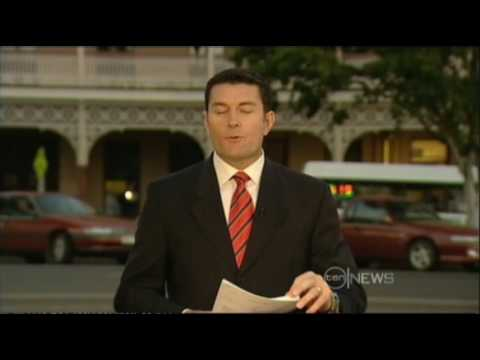 Ten News Queensland with Marie Louise Thiele and Bill McDondald
