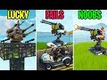 THE MOUNTED TURRET IS IN FORTNITE! LUCKY vs FAILS vs NOOBS!