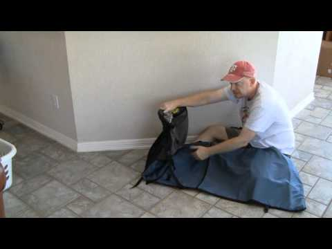 Therm-a-Rest Trekker Lounge Chair and Cocoon Ultralight Aircore Pillow