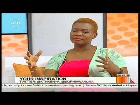 Inspiration with Radio Maisha radio presenter Tina Koroso