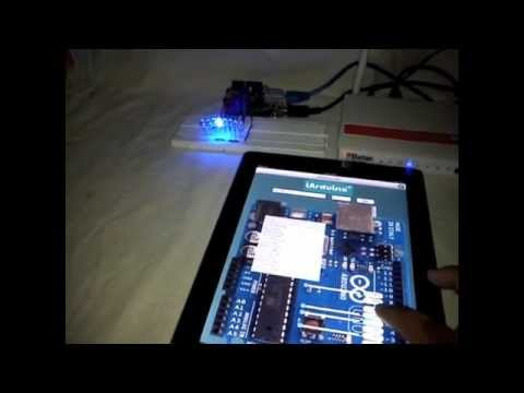 how to make an iphone app for arduino