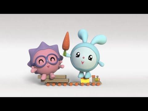 Малышарики - Прогулка (2 серия) | Развивающие мультфильмы для самых маленьких 1,2,3,4 года