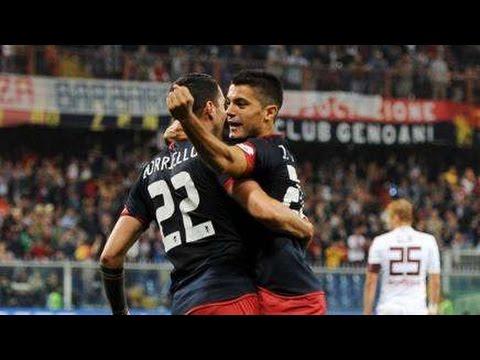 Tino Costa BEST Free Kicks GOAL Genoa vs Torino 5-1 Serie A 11.5.2015