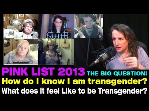 Transgender Zone Vlog Episode  23 Oct 14th, 2013     How Do I Know If I Am Transgender?