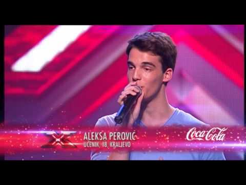 Aleksa Perovic (kad Bi Htjela Ti - Sergej Ćetković) - X Factor Adria - Sezona 1 video
