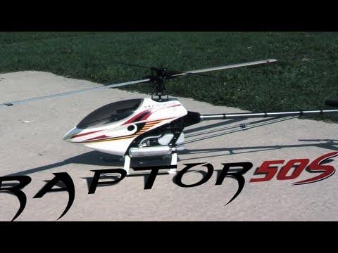 Thunder Tiger Raptor 50S Nitro 3D Heli ARF