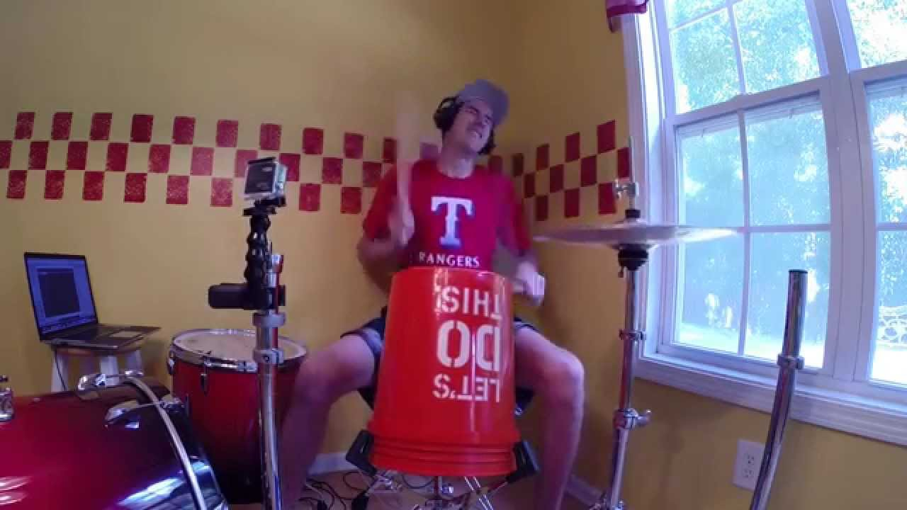 Shake it off drum cover taylor swift bucket drumming youtube