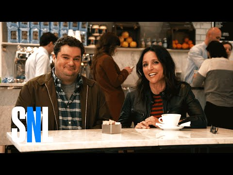 SNL Host Julia Louis-Dreyfus Gets Her Coffee Spit In