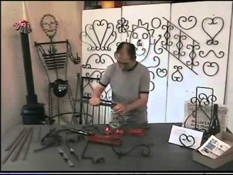 Forja plantilla de herramientas para doblar el hierro for Modelos de marcos para espejos