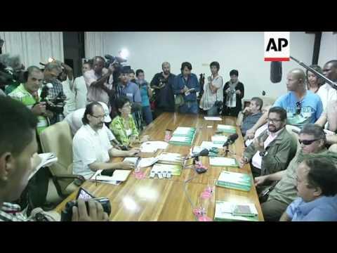 FARC rebels thank Venezuela president Hugo Chavez for his support
