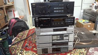 How much vintage audio equipment can you score in the Netherlands for $100