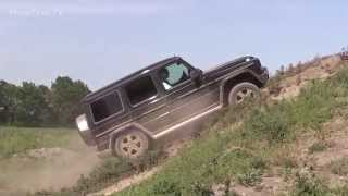 Offroad - Mercedes-Benz G  test on polygon
