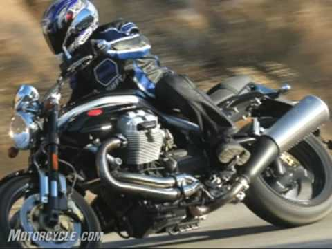 2007 Moto Guzzi Griso 1100 Motorcycle Review Video