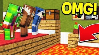 DON'T TOUCH THE FLOOR! - MINECRAFT
