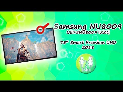 test samsung 75 nu8009 2018 uhd tv unboxing aufbau. Black Bedroom Furniture Sets. Home Design Ideas