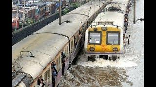Mumbai Rains: Local Trains Affected
