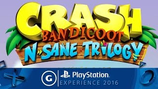 Crash Bandicoot N. Sane Trilogy - The Comeback Trailer | PSX 2016