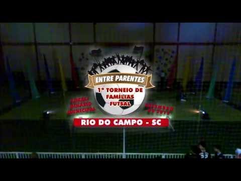 Abertura do 1º Torneio Familiar de Rio do Campo
