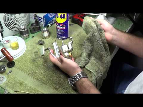 Basic Spinning Reel Maintenance