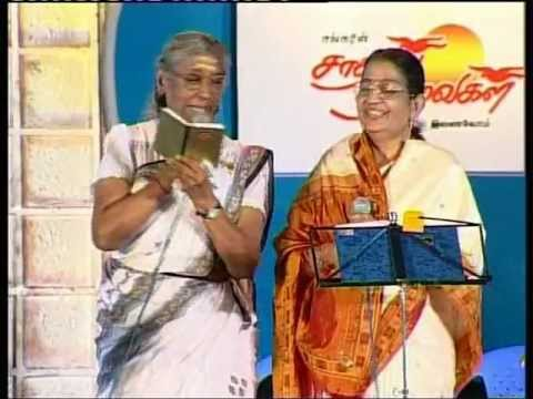 rajavin parvai raniyin pakkam song by Janaki and P.suseela, rajavin parvai raniyin pakkam song, mgr song, P.Susheela - S.Janaki, remix, S.Janaki sings in male voice. aan kuralil paadum S.Janaki paadal kaatchi video. stage song by famous tamil singers