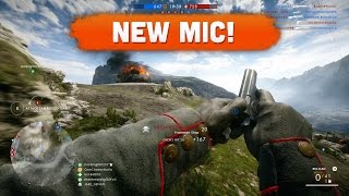NEW MIC! - Battlefield 1 | Road to Max Rank #46 (Multiplayer Gameplay)