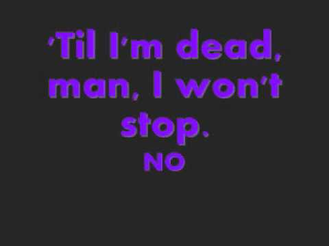 Wont Stop - Sean Kingston Ft. Justin Bieber Lyrics video