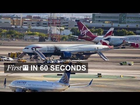 BA Jet fire in Las Vegas, Nikkei up nearly 8%| FirstFT