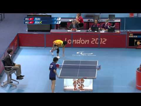 Table Tennis - HKG vs HKG - Women's Singles - Class 11 Gold Medal - London 2012 Paralympic Games