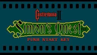 Castlevania II: Simon's Quest - NES Gameplay