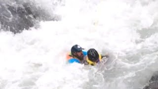 Hero Rescues Capsized Kayaker in One of 2017's Incredible Acts of Courage