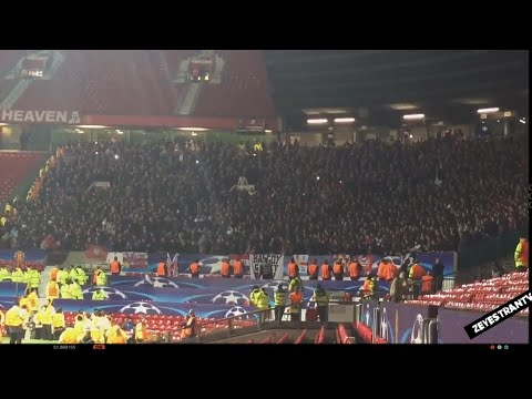 PSV fans singing the Touré song at Old Trafford after the game | EPIC Yaya / Kolo Toure Chant