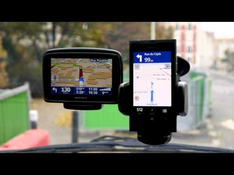 Nokia Lumia 800 - Test Navigation GPS et guidage vocal