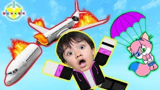 Download Song WE JUMPED FROM THE PLANE! Roblox Escape the Plane Crash Obby Let's Play with Ryan Vs Alpha Lexa Free StafaMp3
