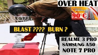 Blast ?Realme 3 pro  After 90°C Overheat #Redmi Note 7 pro#samsung a50#honor 8x