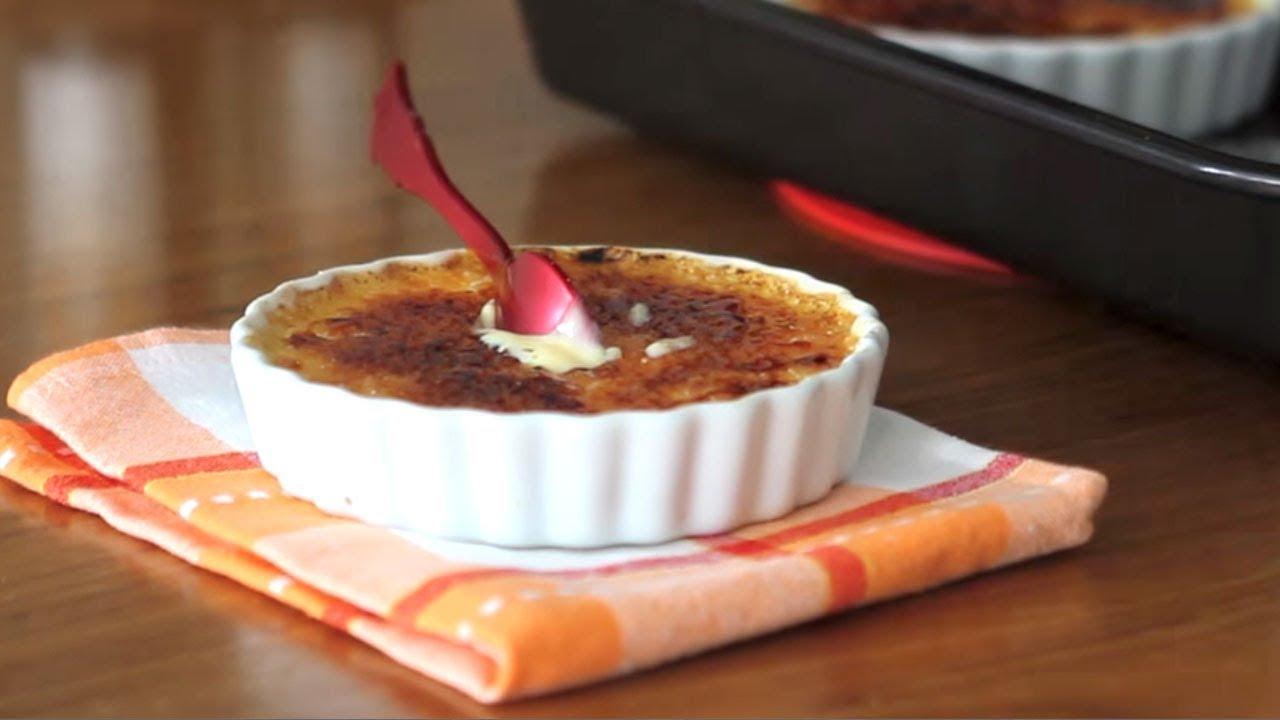 Creme Brulee Receita Facil Crème Brûlée Receitas Para